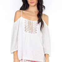 Juliette Off Shoulder Top $33