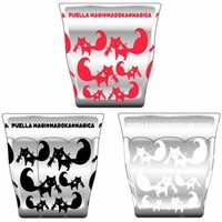 Kyubey Glass Set ~ Puella Magi Madoka Magica the Movie: The Rebellion Story **Preorder**
