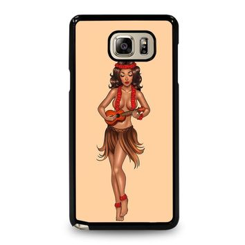 SAILOR JERRY S HULA GIRL Samsung Galaxy Note 5 Case