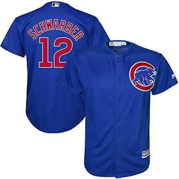 Kyle Schwarber #12 Chicago Cubs Youth Alternate Cool Base Replica Jersey (youth Medium 10/12)