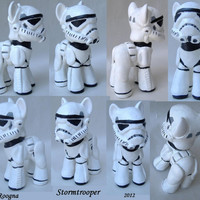 Custom My Little Pony Stormtrooper Star Wars Storm Trooper