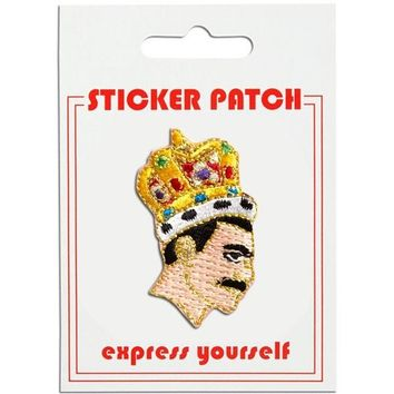 THE FOUND STICKER PATCH - FREDDIE MERCURY QUEEN