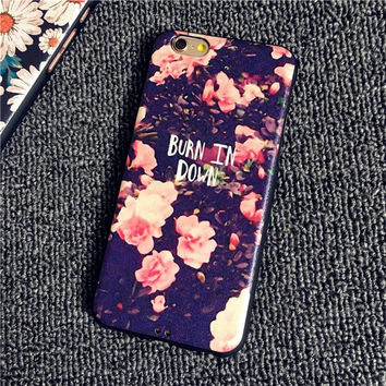 BURN IN DOWN Case for iPhone