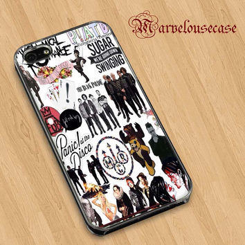 Fall Out Boy My Chemical Romance Panic! At the Disco custom case for all phone case