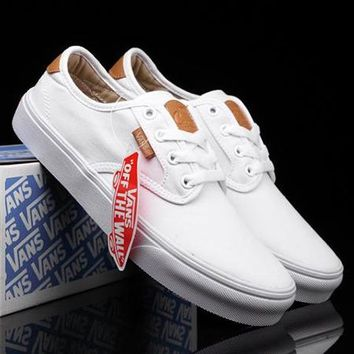 Vans Classic Old Skool Canvas Flats Sneakers Sport Shoes