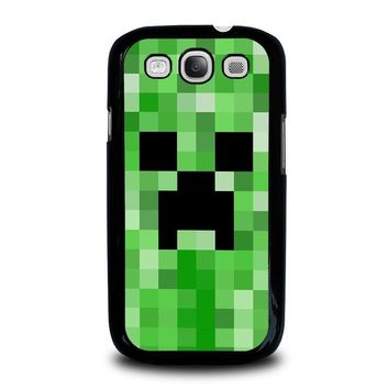 creeper minecraft 2 samsung galaxy s3 case cover  number 1
