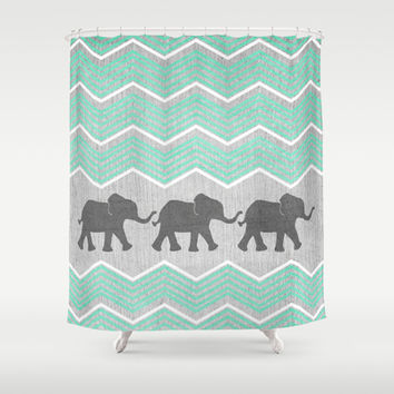 Teal Green Shower Curtain Ombre Teal Shower CurtainBest 25 Teal