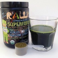 RAWr! Life. Superfoods. USDA Certified Organic Green Drink Mix. Created by Pro Skateboarder John Motta & Pro BMXer/Rare Fruit Grower Joey Motta.