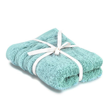 NITORI 21TC Egyptian Cotton Towel - Blue