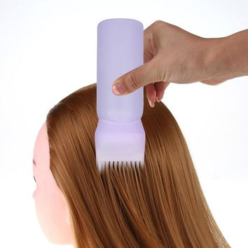 2017 1PC   Hot Hair Dye Bottle Applicator Brush Dispensing Salon Hair Coloring Dyeing