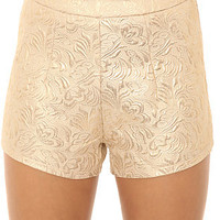LA Boutique Short Gold Rush in Ivory