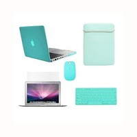 NEW ARRIVALS! Crystal See Thru Hard Case Cover for Macbook Pro 13""