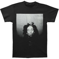Bob Marley Men's  Smoking T-shirt Black