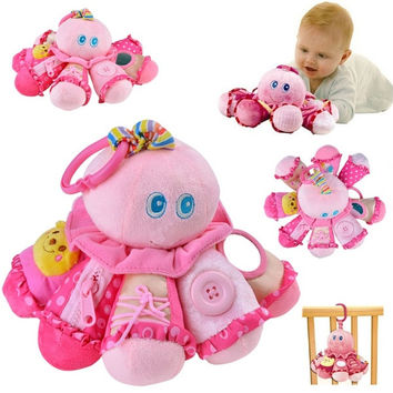 Unisex Plush Toy Baby Pram Hanging Bell Bed Crib Ring Cot Spiral Decoration HOT 7_S = 1916585092