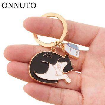 1 pc Gold Tone Animal Keychain 8 Designs