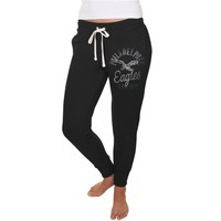 Women's Philadelphia Eagles Junk Food Black Sunday Sweatpants