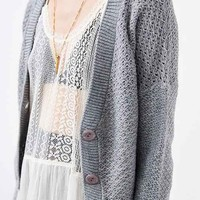 Cooperative Cozy Cropped Cardigan-