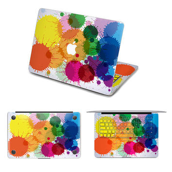 rainbow decal macbook pro decals keyboard decal cover sticker skin keyboard decal laptop mac decals sticker Avery mac decals Apple Mac Decal