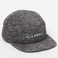 Diamond Supply Co - Garnet Camper Strapback Hat - Mens Backpack - Black - One