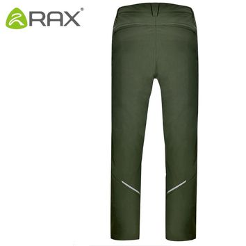 Rax Hiking Pants Men Windstopper Winter Warm Outdoor Sports Pants Breathable  Climbing Fishing Trousers Army Trekking Pants