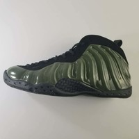 Air Foamposite One Black/Army Green Basketball Shoe Size 41--46