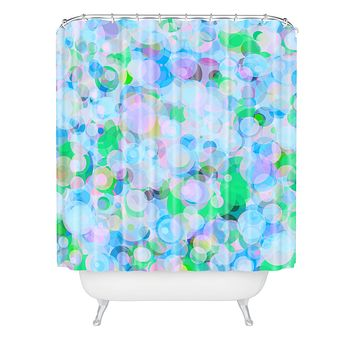 Lisa Argyropoulos Wild Hydrangea Shower Curtain