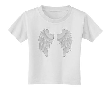 Epic Angel Wings Design Toddler T-Shirt