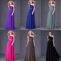 Long Wedding Party Bridesmaid Gown Women's Evening Prom Ball Formal Dress from MustHaveGift