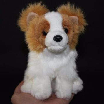 Pomeranian Dog Stuffed Animal Plush Toy 6""