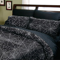 Spider Web Print Duvet Covers - Duvet Covers - Sin In Linen