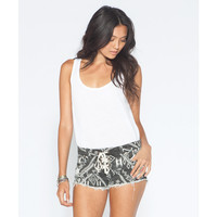 Billabong Women's Lite Hearted Athena Denim Shorts