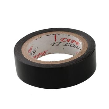 1pcs 15mm Vinyl Electrical Tape Insulation Adhesive Tape Black Industrial Supply Office High Quality
