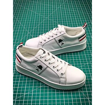 2018 Newest ASH White Leather Sneakers - Sale