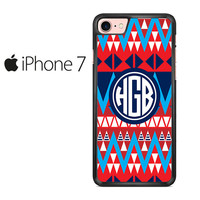 Aztec Monogram Iphone 7 Case