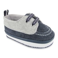 Wendy Bellissimo™ Jacques Worn Canvas Soft Sole Deck Shoe in Navy/Grey