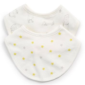 Infant Mini Boden 'Dribble' Bibs