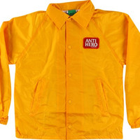 Anti Hero Reserve Patch Coaches Jacket Large Yellow