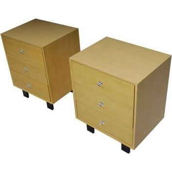 Pre-owned George Nelson Herman Miller Nightstands - A Pair