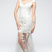 KC14709 Beach Wedding Dress or Evening Gown by Kari Chang Couture