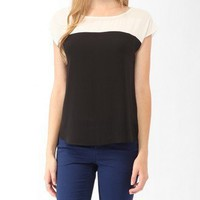 Boxy Cap Sleeve Top