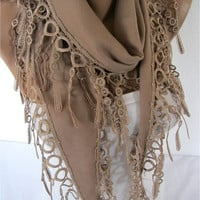 ONE SALE - Pashmina scarf ,women scarves - fashion scarf - gift scarves -Shawl