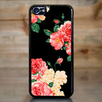 Large Carnation Flowers Case for Apple iPhone 5c
