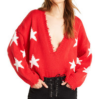 Stars Palmetto Sweater - Wildfox