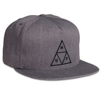 HUF - TRIPLE TRIANGLE SNAPBACK SP14 // GRAY HEATHER