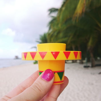 Sombrero Slammer Shot Glasses