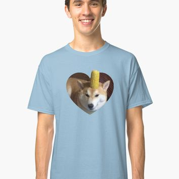 'Doggo Stickers: Corndog' Classic T-Shirt by Elise Vermeer