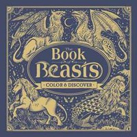 Book of Beasts coloring book (hc)