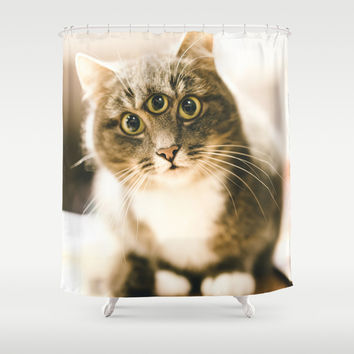 Take me to your leader Shower Curtain by HappyMelvin