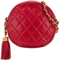 Chanel Vintage Round Fringe Shoulder Bag - Farfetch