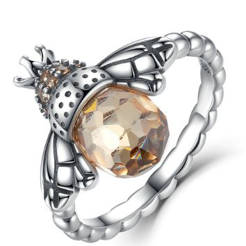 Wing Bee Finger Ring